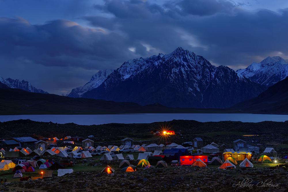 Shandur night view