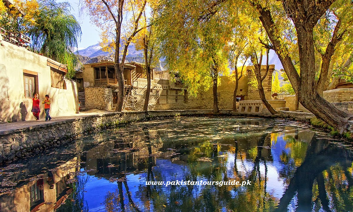 Ganish village in Hunza
