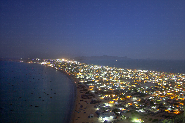 Gwadar in Night