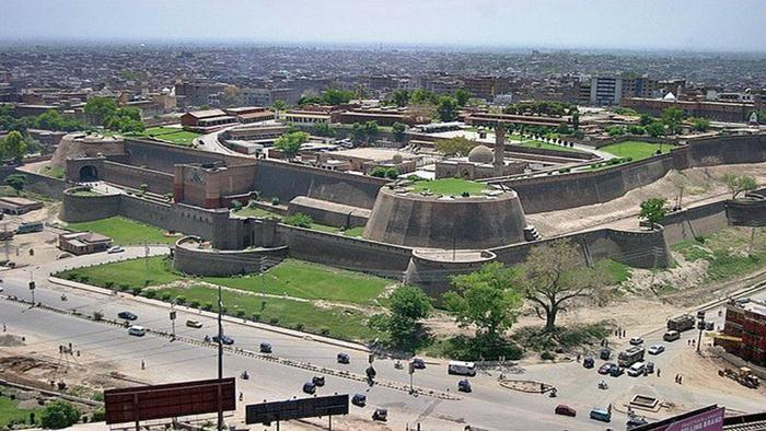 Historical Bala Hisar Fort