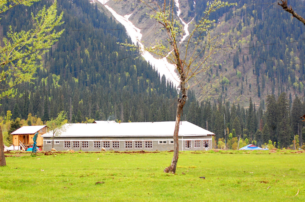 School at Arang Kel village Neelum Valley
