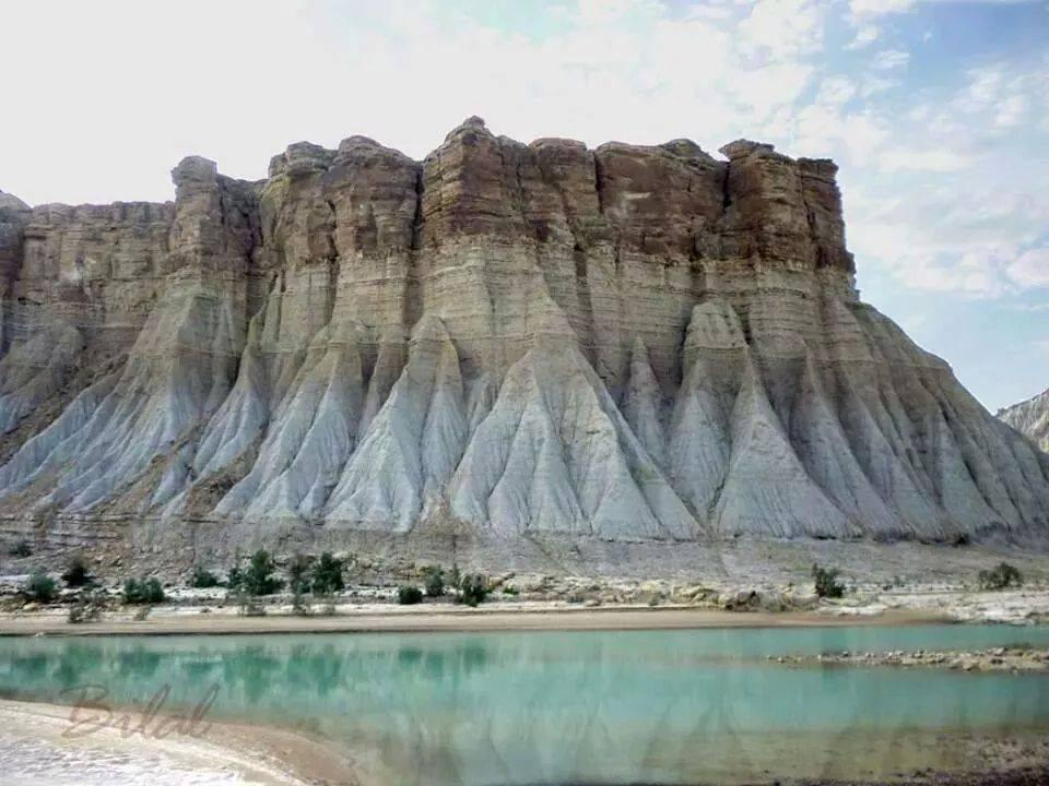 Strange mud mountain in Hingol national park Balochistan