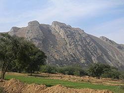 Salt Range in Mianwali District, Punjab, Pakistan