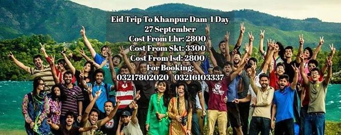 Eid Trip To Khanpur Dam | Jet Ski | Boating | Cliff Diving | Paragiliding & Visit Taxila Museum
