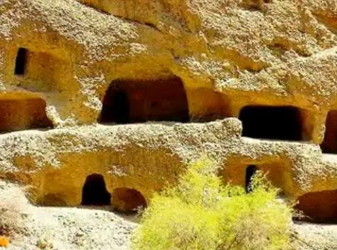 Shehr-e-Roghan Caved-city
