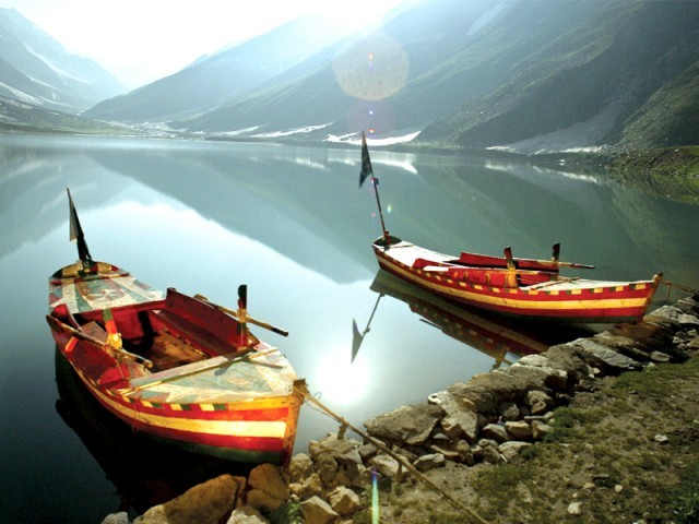 Boating at Saif ul Malook