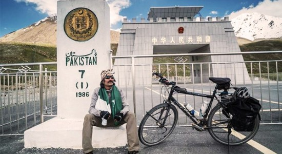 Kamran's bicycle ride from Germany to Pakistan