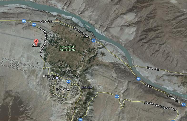 Chilas-City-Satellite-Map