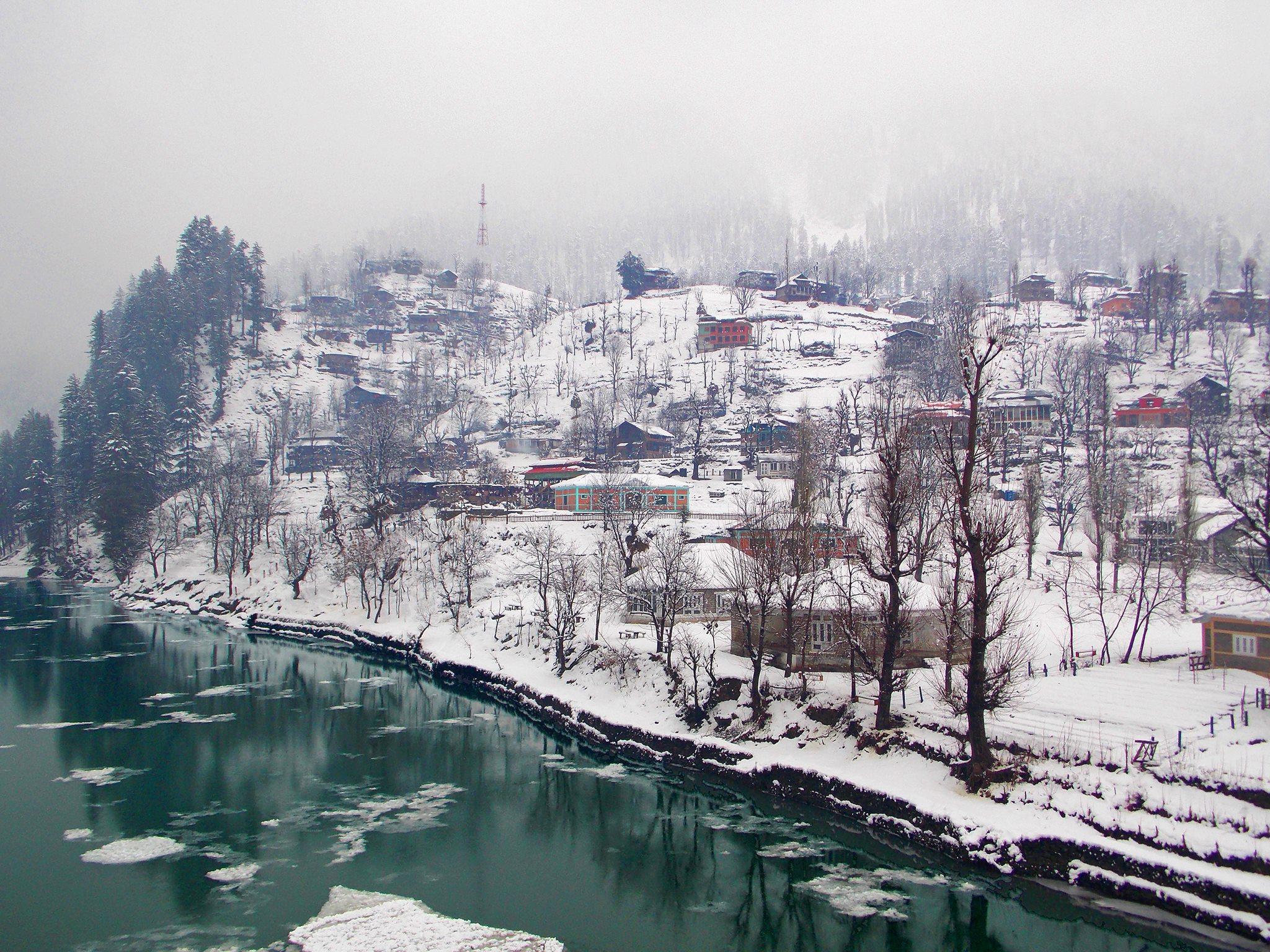 Neelum Valley in winter