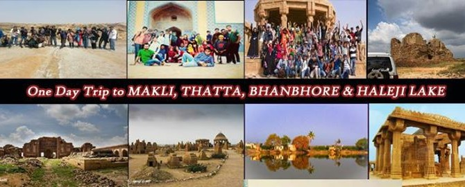 One Day Trip to MAKLI, THATTA, BHANBHORE and Haleji Lake