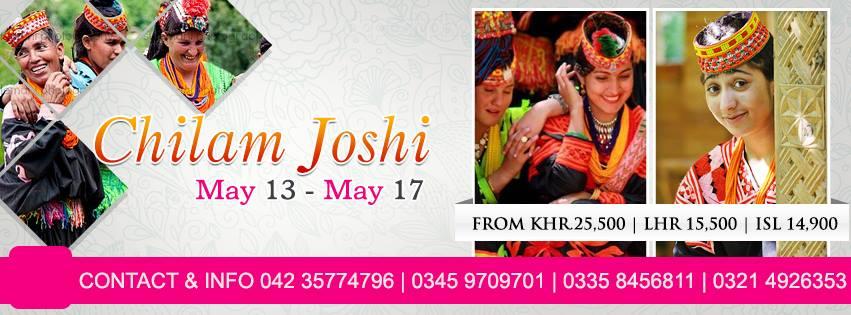Chilllam joshi Festival Pakistan Tourism Guide