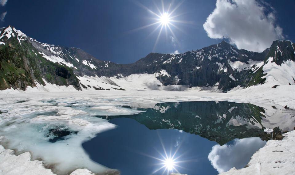 A Breath taking view of Chitta Kattha lake in Neelum valley Azad Kashmir copy