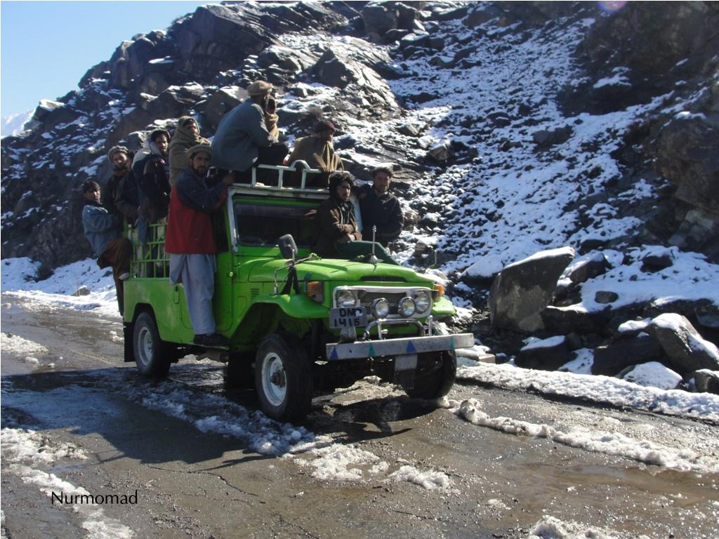 Snofall in Chilas